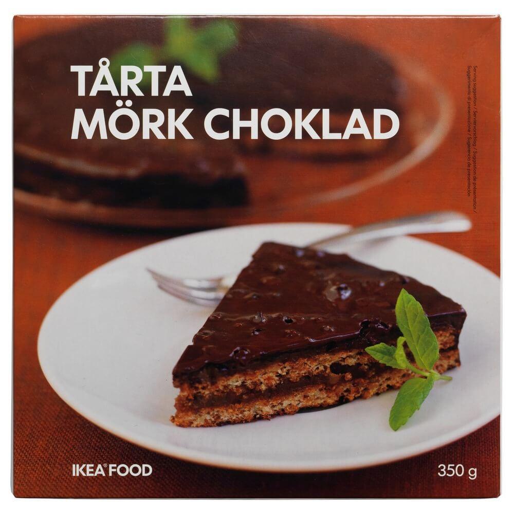 Торт шоколадно-миндальный, заморож TARTA MORK CHOKLAD