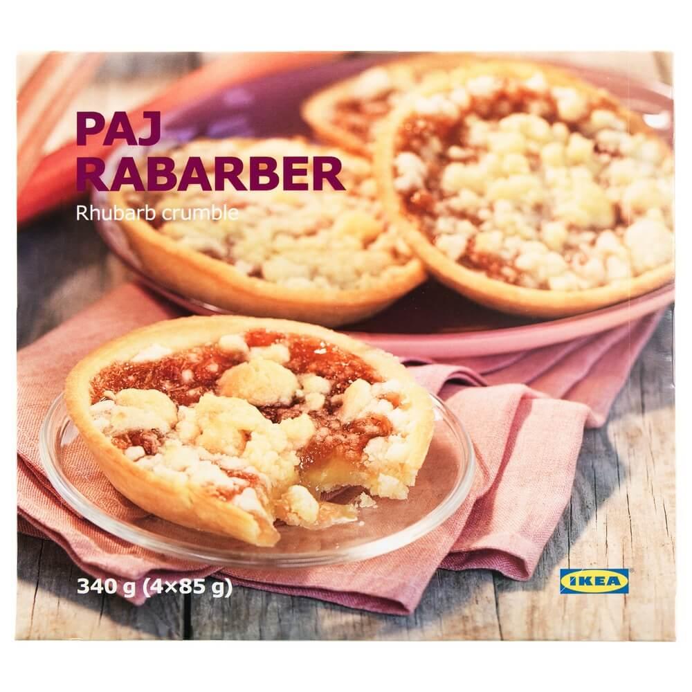 Пирог c начинкой из ревеня PAJ RABARBER