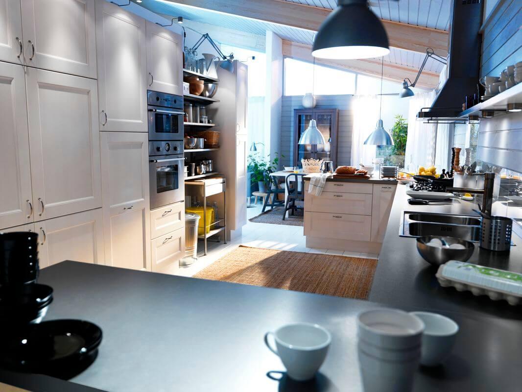 Световые сценарии для кухни