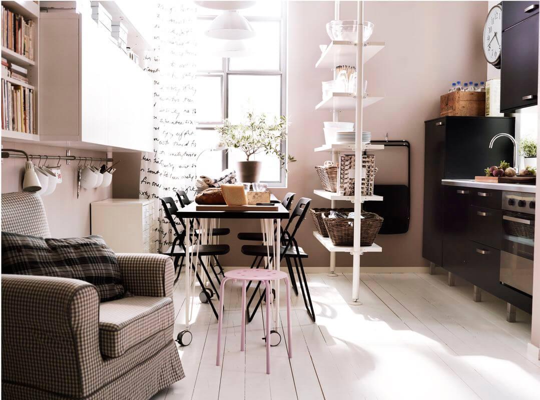 Кухня как часть жилого пространства