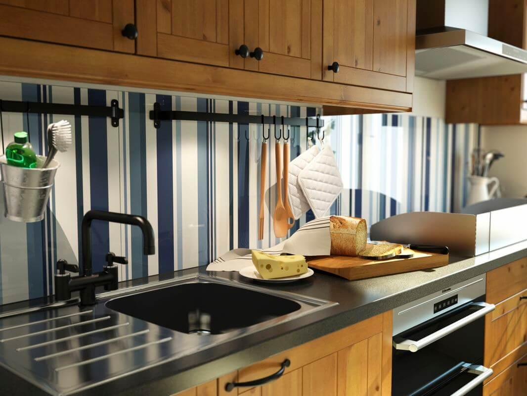 Продуманный дизайн кухни – от шкафа до смесителя