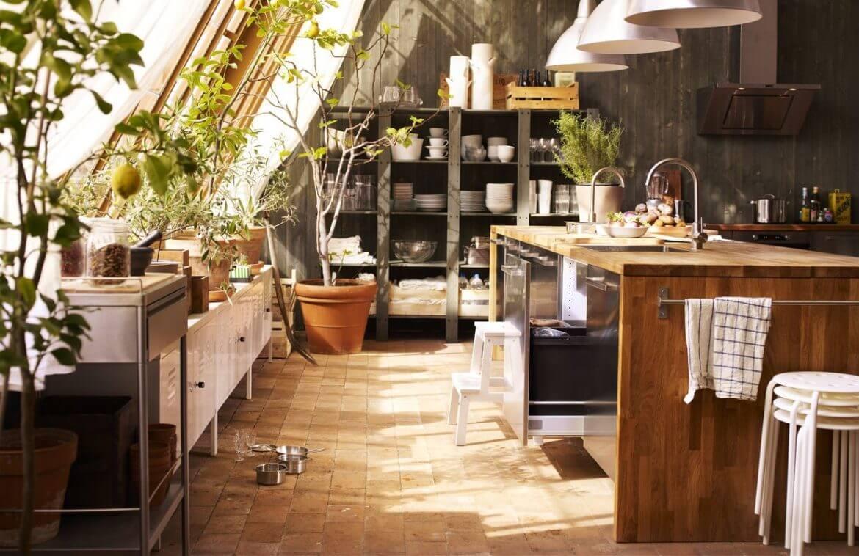 Кухонные гарнитуры из кладовки
