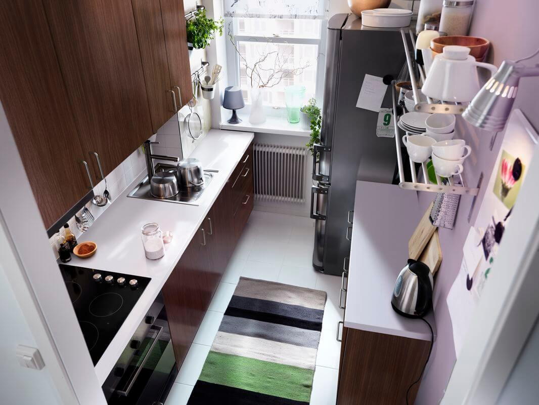 Маленькая кухня – повод для больших решений