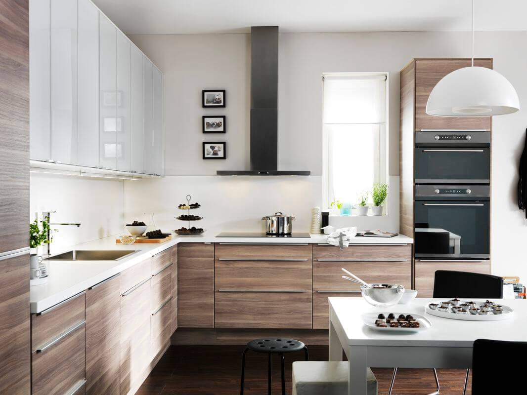 одну дизайн кухни из мебели икеа фото паучок сидит цветущем