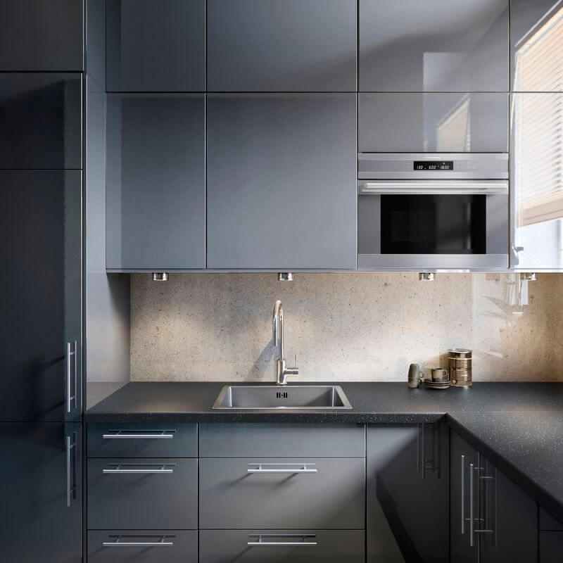 Модульные кухни в концептуальной форме