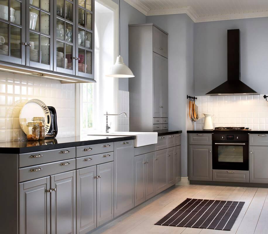 Тени и свет в дизайне кухни