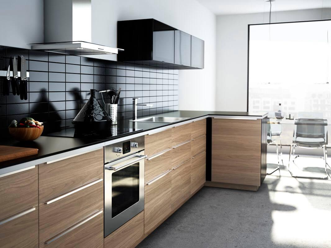Кухонные шкафы в новом звучании