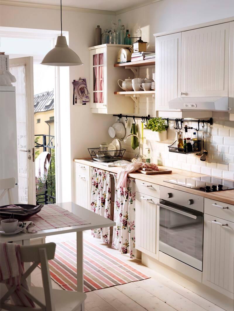 Добавь романтики в дизайн кухни!