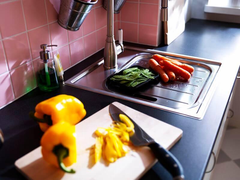 Еще одна рабочая столешница для кухни