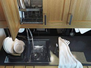 Все для мытья посуды в магазине кухни ИКЕА