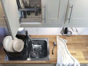 Легкое движение руки — и кухня превращается…