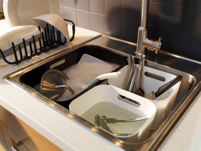 Принцип матрешки для кухонной мойки