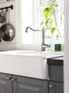 Создаем образ: смесители и мойки кухонные
