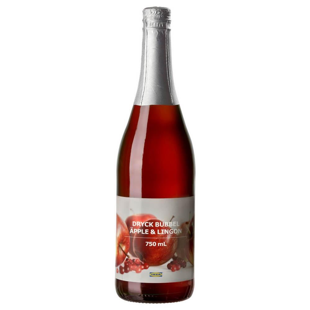 Напиток яблочно-брусничный DRYCK BUBBEL APPLE & LINGON