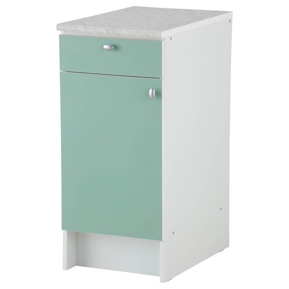 Напольный шкаф с дверью и ящиком АЛЬБРУ