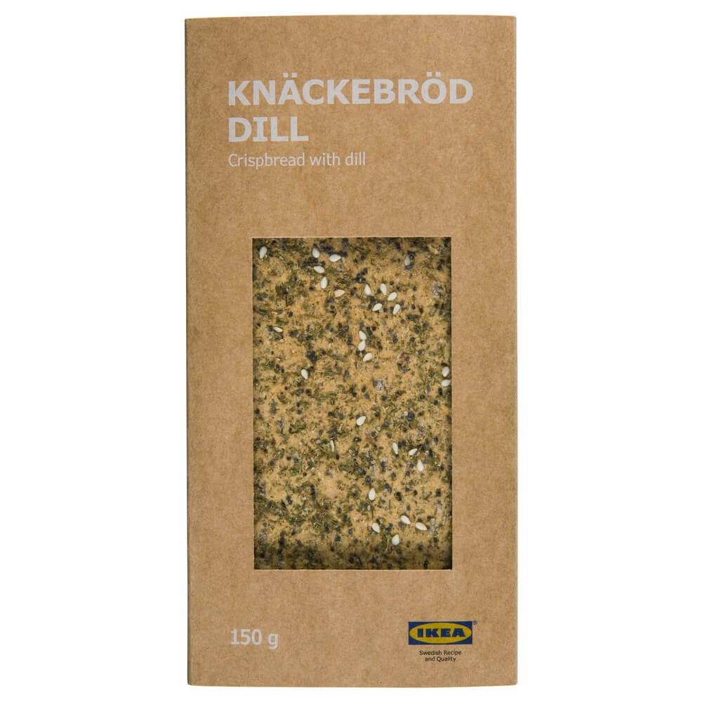 Хрустящие хлебцы с укропом KNACKEBROD DILL