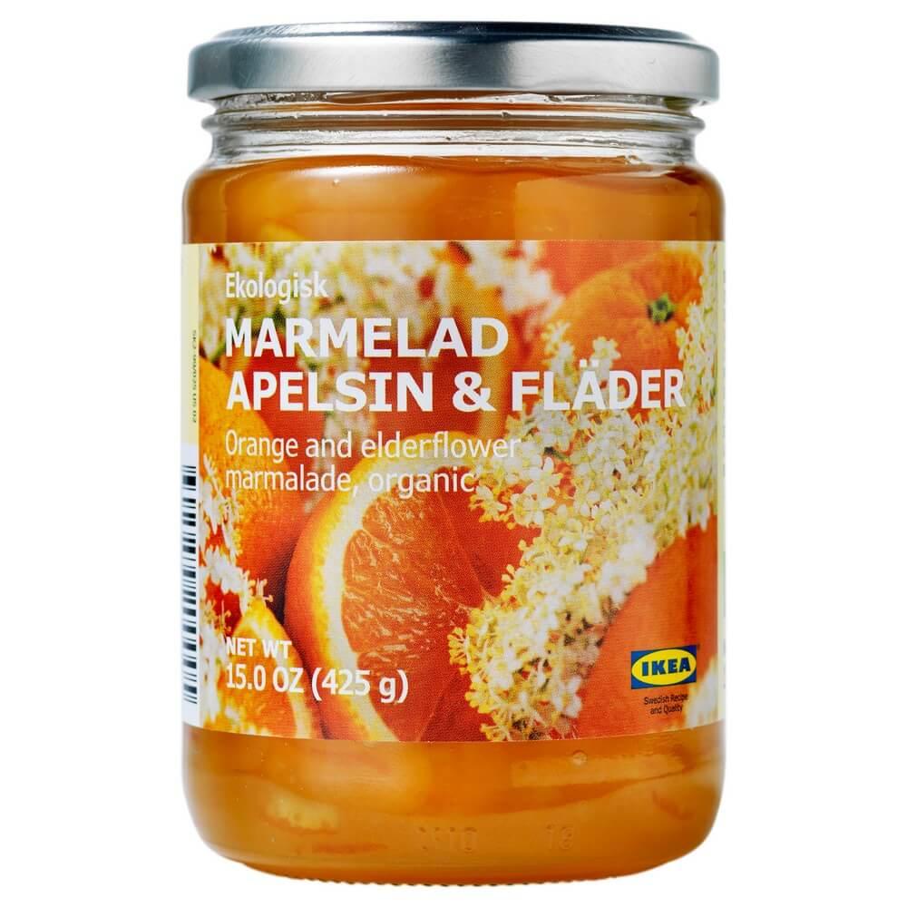 Джем из апельсина и цветов бузины MARMELAD APELSIN & FLADER