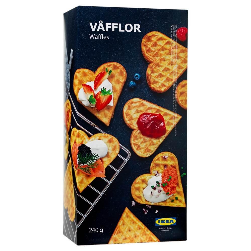 Замороженные вафли VAFFLOR