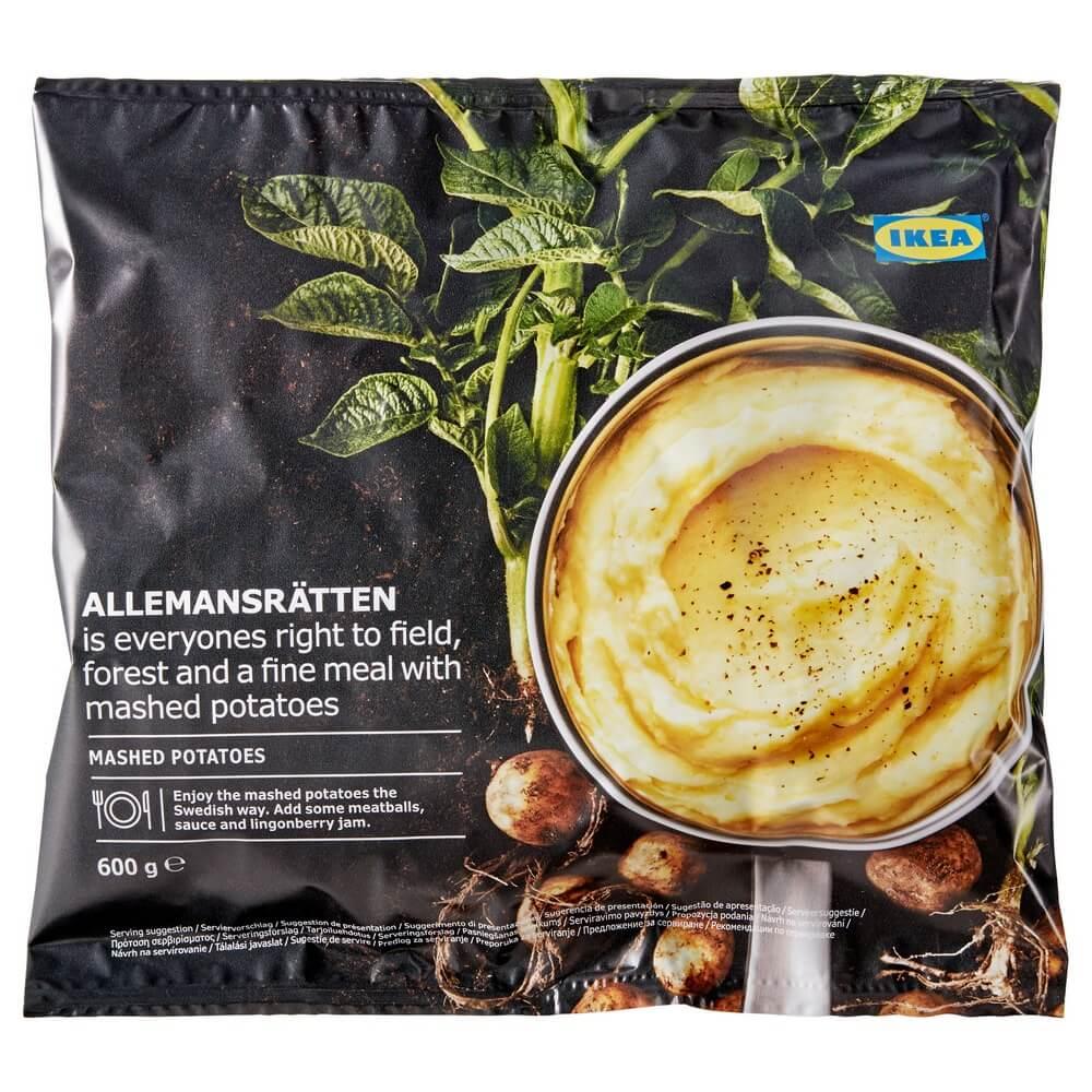 Замороженное картофельное пюре ALLEMANSRATTEN