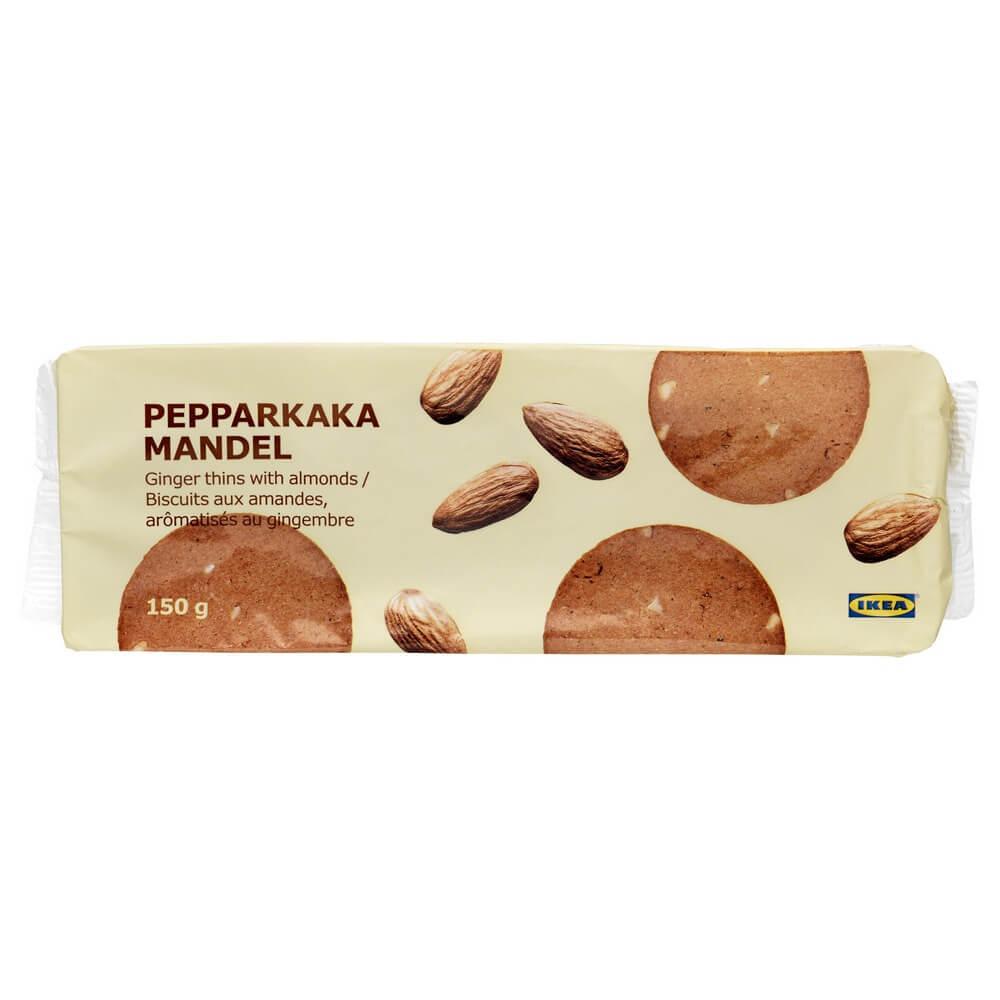 Имбирное печенье с миндалем PEPPARKAKA MANDEL