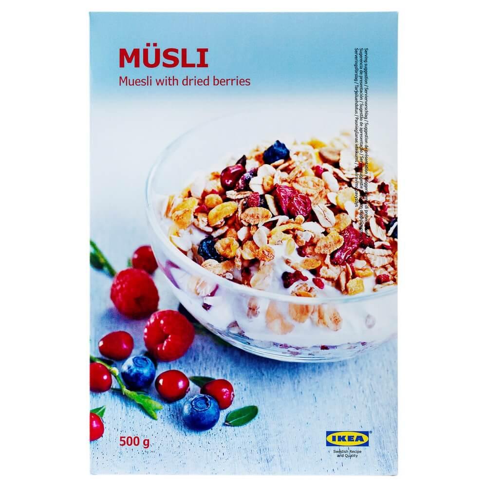 Мюсли с ягодами MUSLI