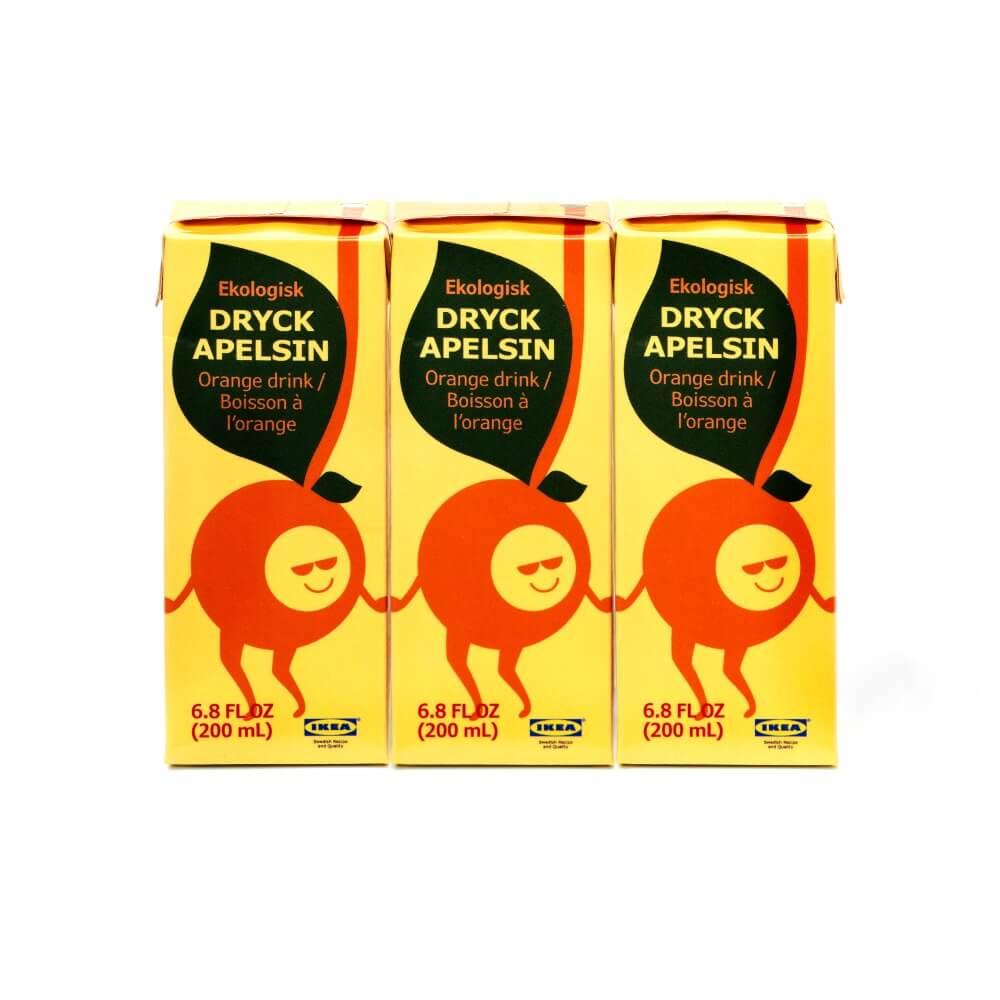 Апельсиновый напиток DRYCK APELSIN