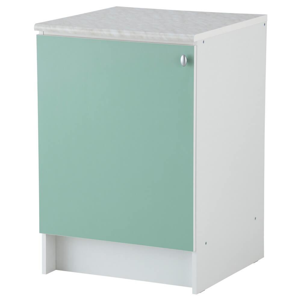 Напольный шкаф с дверью АЛЬБРУ