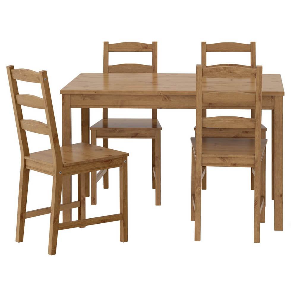 Стол и 4 стула ЙОКМОКК