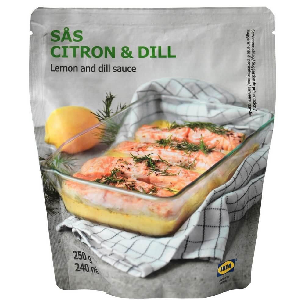 Соус с лимоном и укропом SAS CITRON & DILL