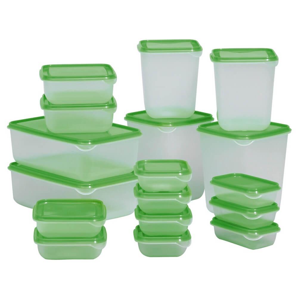Набор контейнеров (17 штук) ПРУТА