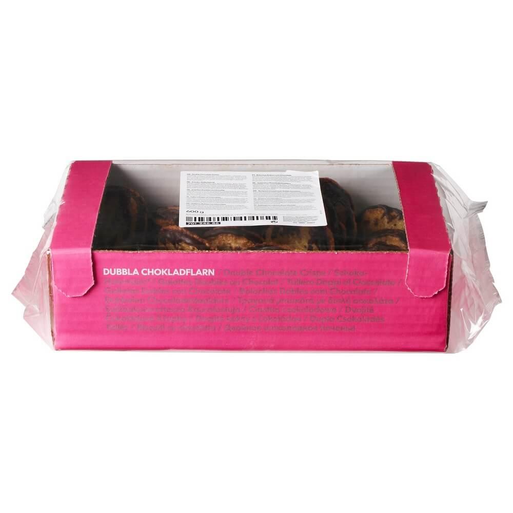 Двойное шоколадное печенье KAKOR CHOKLADFLARN
