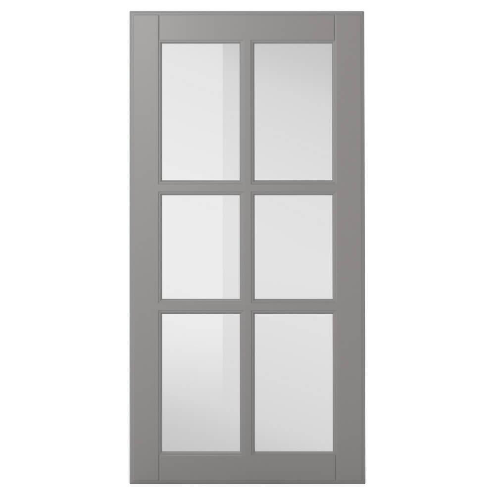 Стеклянная дверь БУДБИН