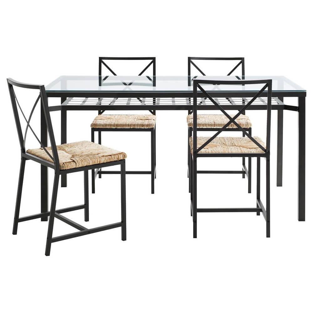 Стол и 4 стула ГРАНОС