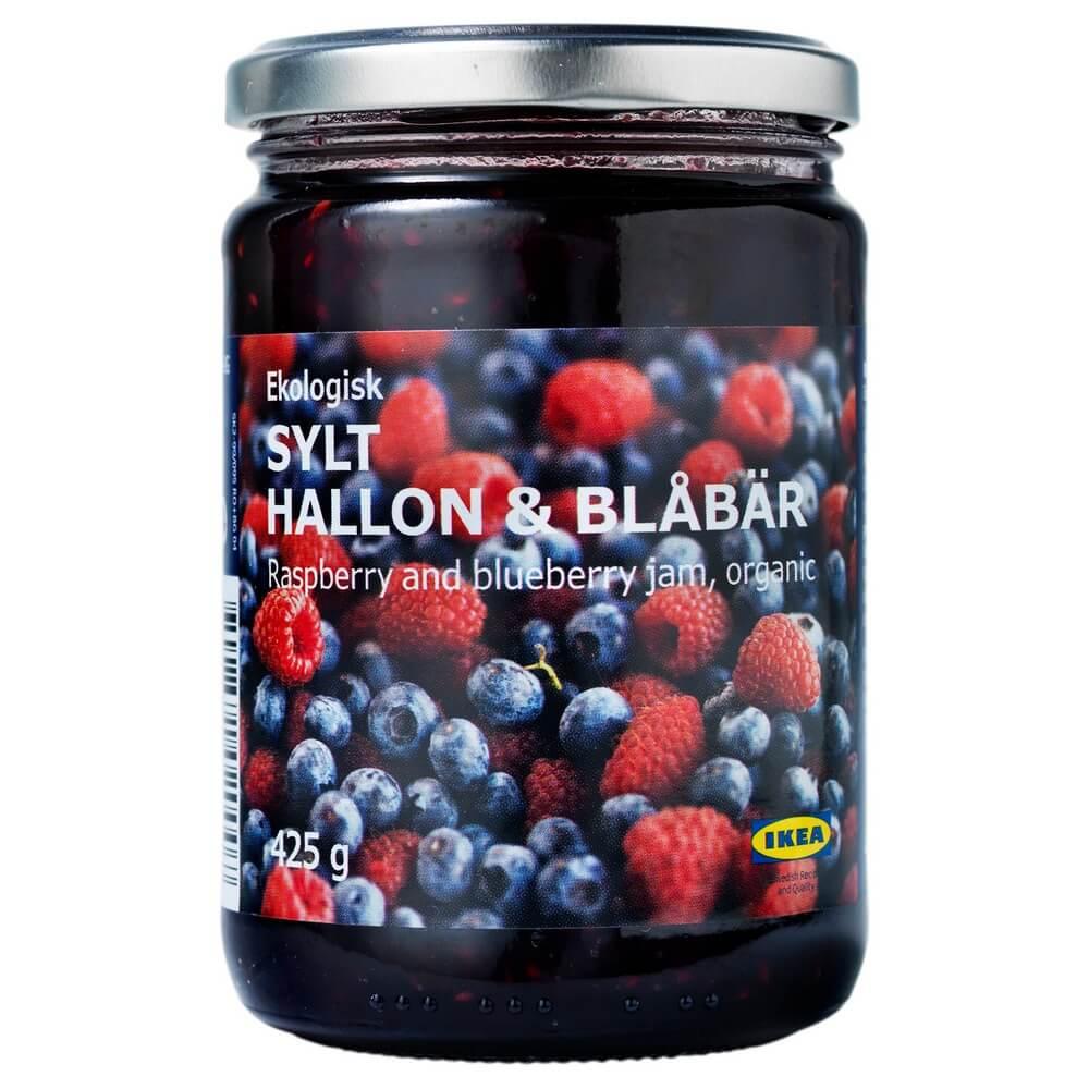 Джем из малины и черники SYLT HALLON BLABAR