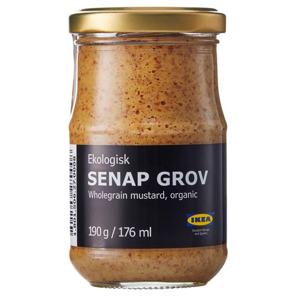 Горчица цельнозерновая SENAP GROV