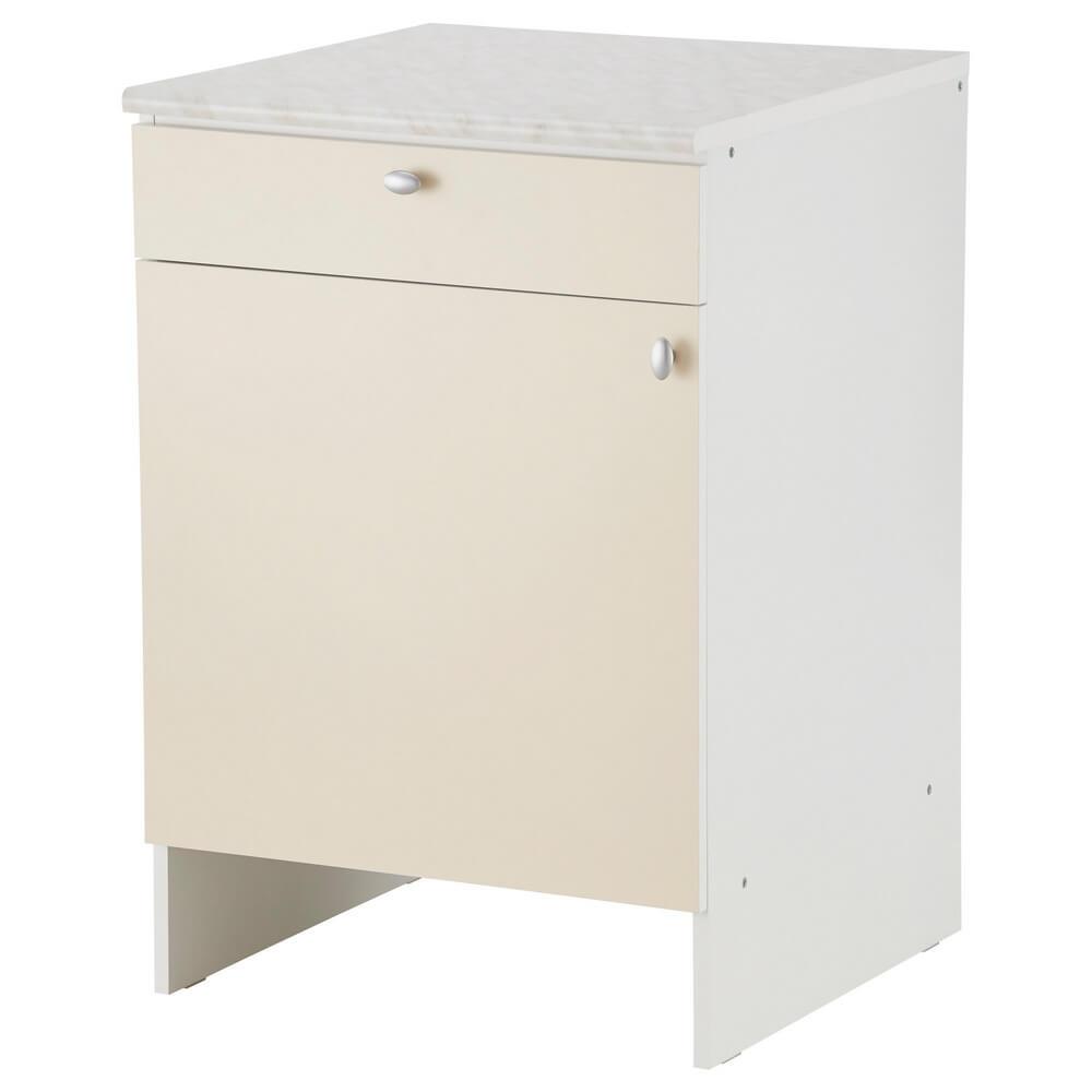 Напольный шкаф с дверью и ящиком ОВЕРБУ