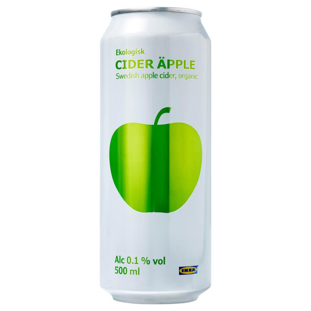 Яблочный сидр 0.1% CIDER APPLE