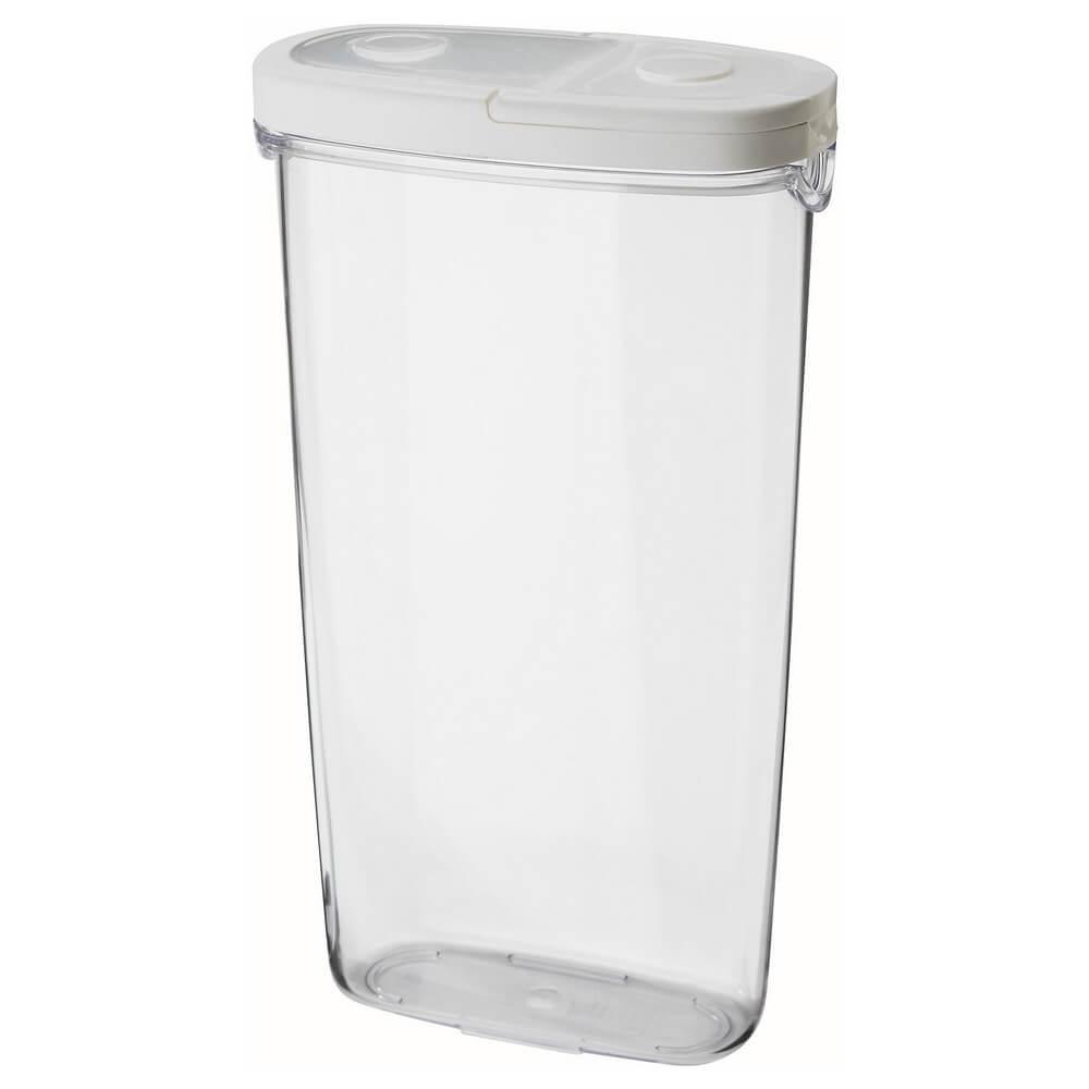 Контейнер и крышка для сухих продуктов ИКЕА/365+