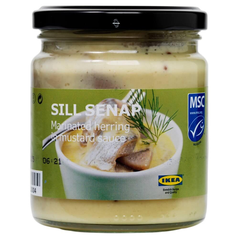 Сельдь маринованная в горчичном соусе SILL SENAP