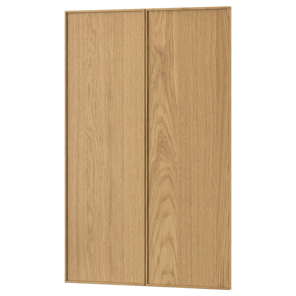 Дверца для напольного углового шкафа (2 штуки) ЭКЕСТАД