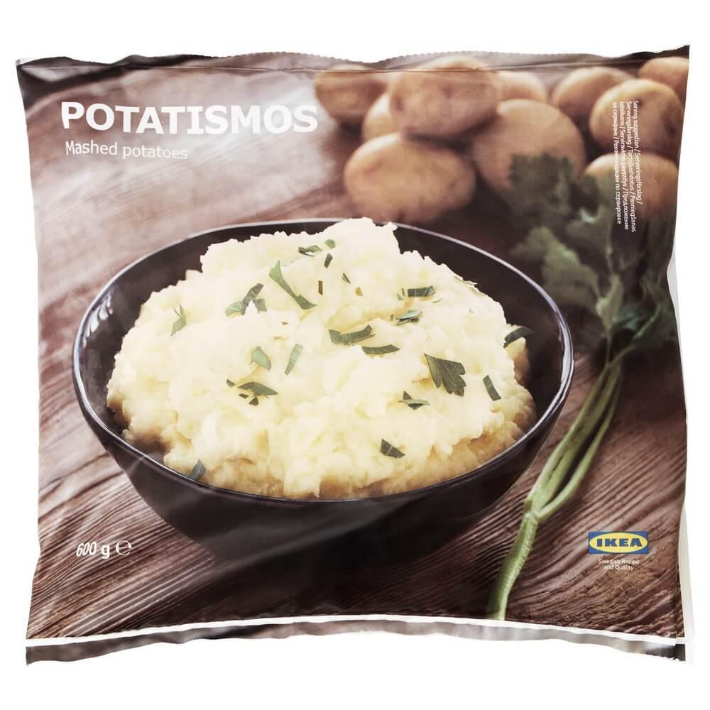 Замороженное картофельное пюре POTATISMOS