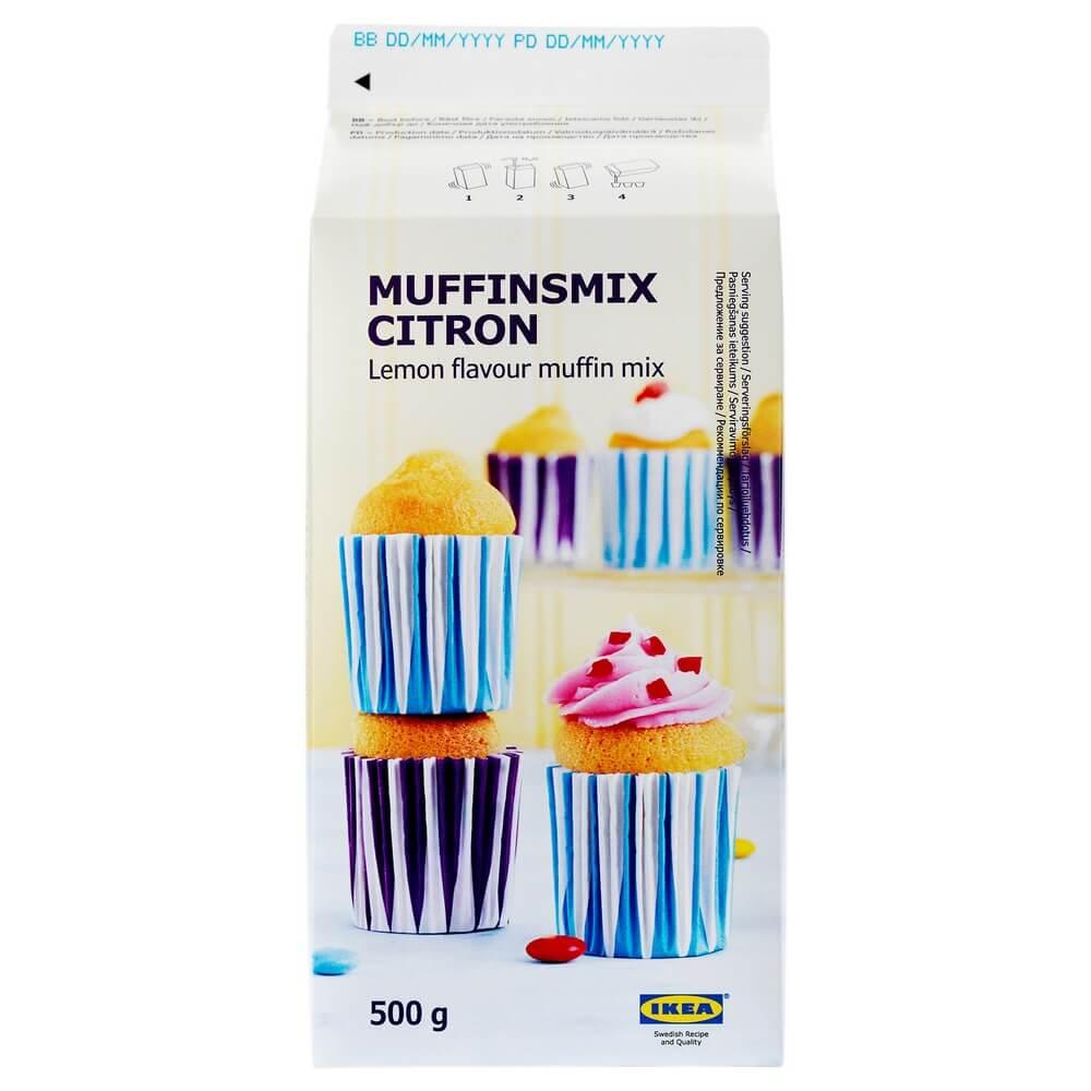 Лимонная смесь для выпечки маффинов MUFFINSMIX CITRON