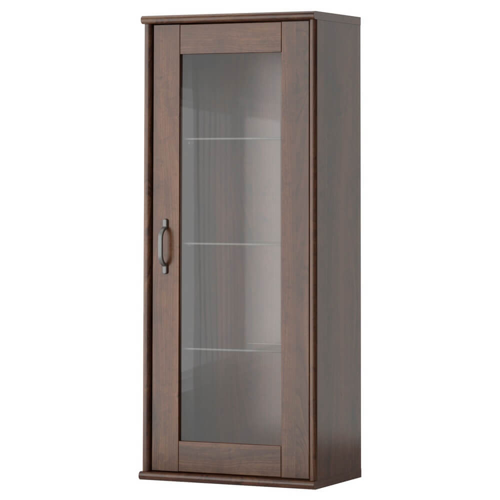 Навесной шкаф со стеклянной дверью ТОККАРП