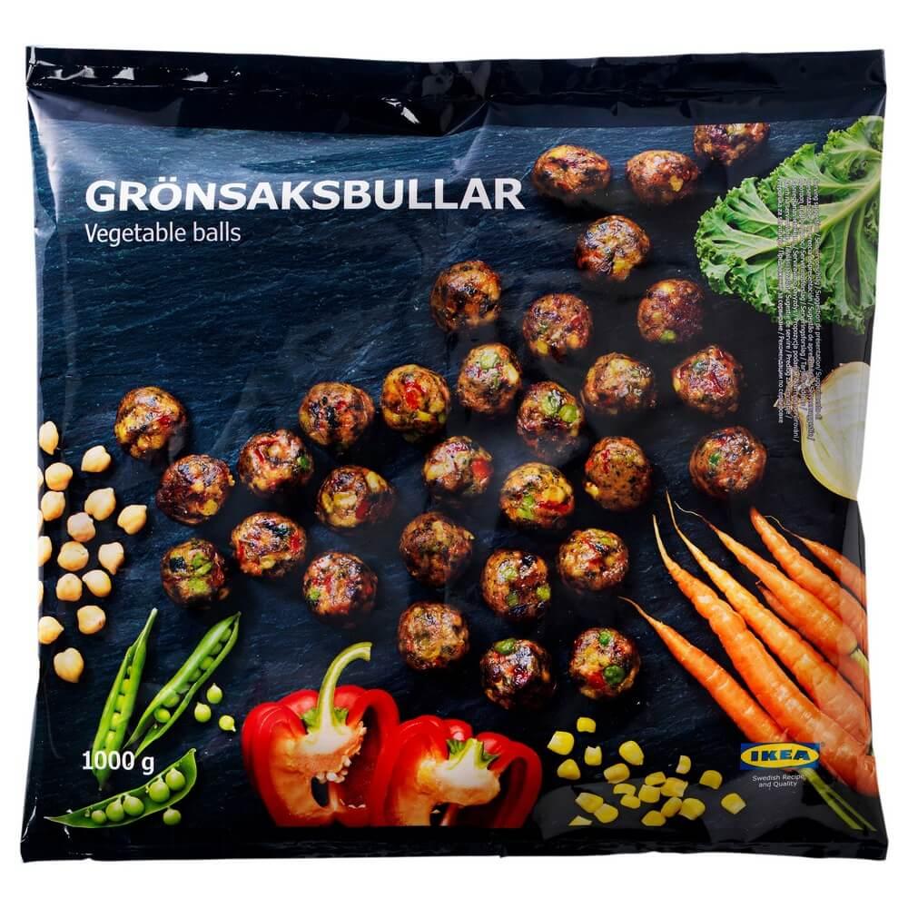Замороженные овощные фрикадельки GRONSAKSBULLAR