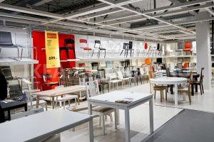 Столы и стулья в ИКЕА Химки