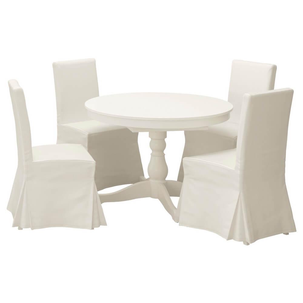 Стол и 4 стула ИНГАТОРП / ХЕНРИКСДАЛЬ