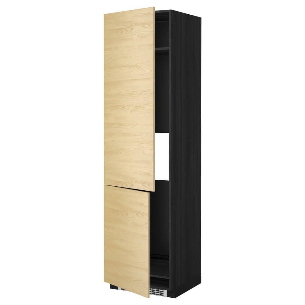 Высокий шкаф для холодильника или морозильника с 2 дверцами МЕТОД