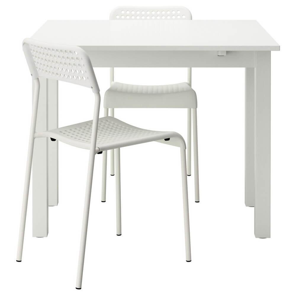 Стол и 2 стула БЬЮРСТА / АДДЕ