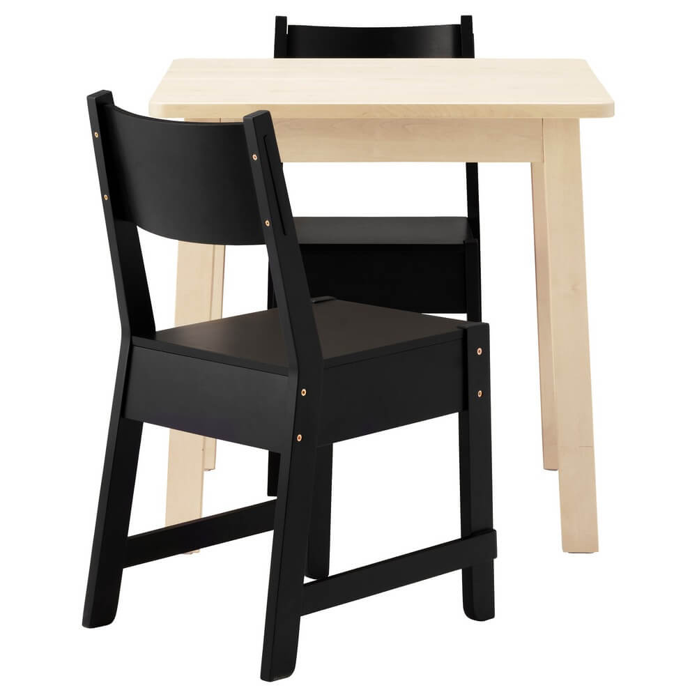 Стол и 2 стула НОРРОКЕР / НОРРОКЕР
