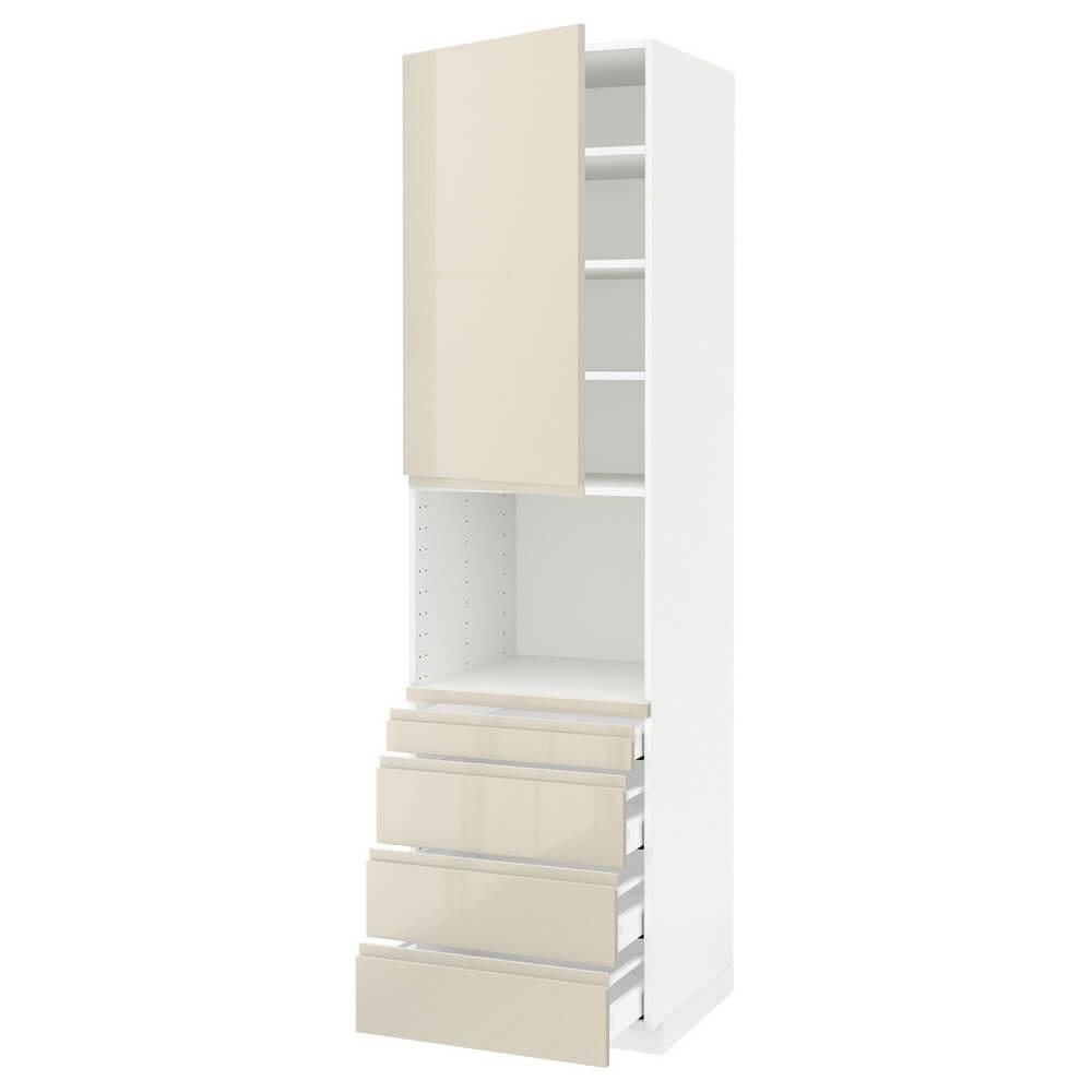 Высокий шкаф для СВЧ (4 ящика) МЕТОД / МАКСИМЕРА